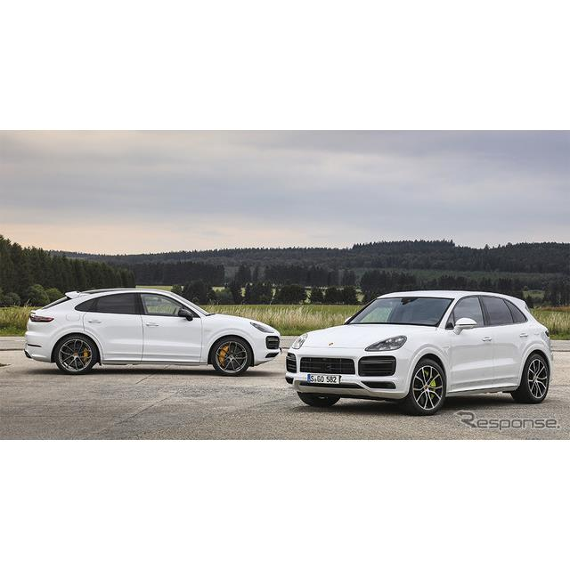 ポルシェジャパンは、カイエンシリーズのトップエンドモデル、新型『カイエンターボSEハイブリッド』と新型...