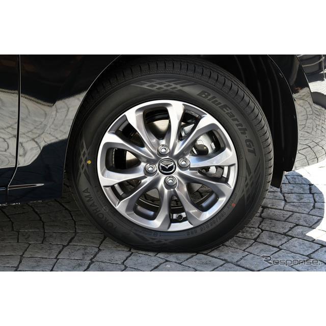 横浜ゴムは、マツダが9月より発売した新型『マツダ2』の新車装着(OE)用タイヤとして「BluEarth-GT AE51」...