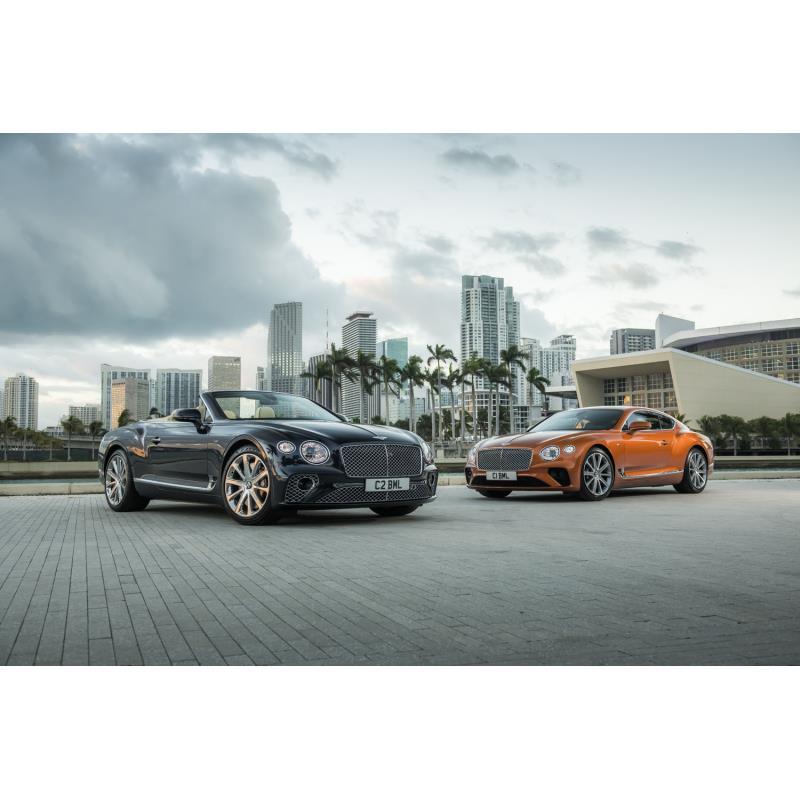 ベントレーモーターズジャパンは2019年9月17日、V8エンジンを搭載した新型「コンチネンタルGT V8」(クーペ...