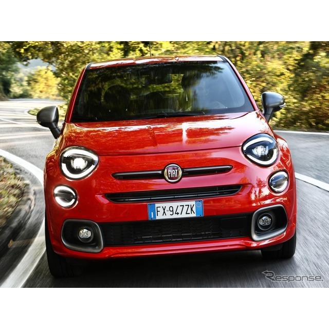 フィアットは9月13日、改良新型フィアット『500X』(Fiat 500X)に、新グレードの「スポーツ」を欧州で設定...