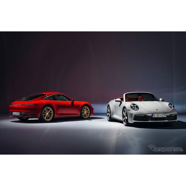 ポルシェ 911 カレラ・クーペ 新型とポルシェ 911 カレラ・カブリオレ 新型