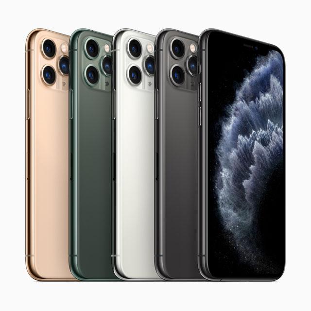 アップル トリプルカメラ搭載「iPhone 11 Pro/Pro Max」