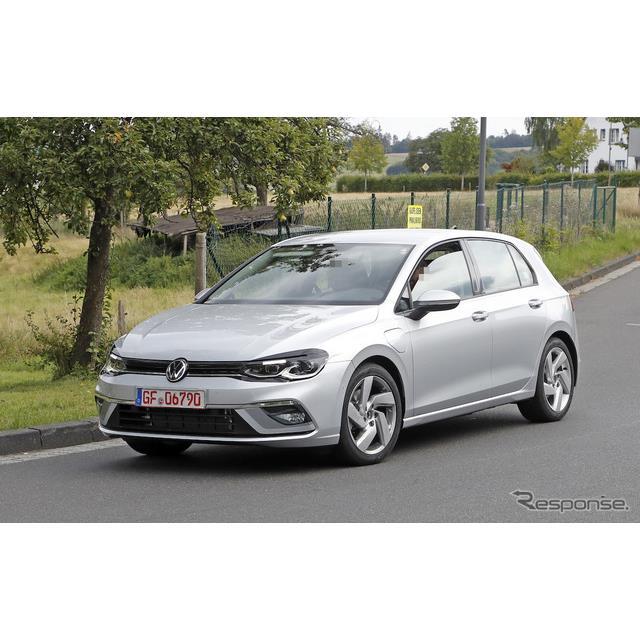 VW ゴルフ GTE 新型(スクープ写真)