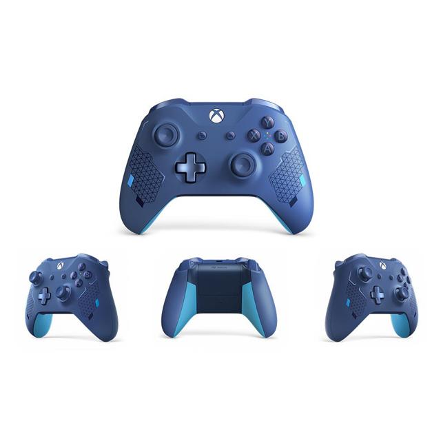 「Xbox ワイヤレス コントローラー(スポーツ ブルー)」