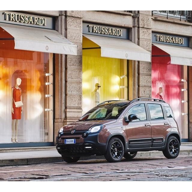 フィアットは9月18日、『パンダ・トラサルディ』(Fiat Panda Trussardi)を欧州で発表した。イタリアのブ...
