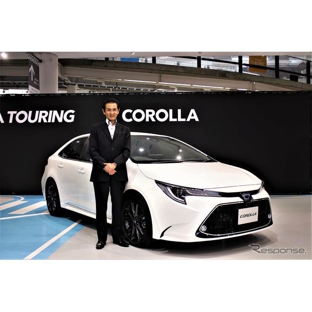 フルモデルチェンジしたトヨタ『カローラ』。そのデザインは先代から大きく変革した。その理由について担当...