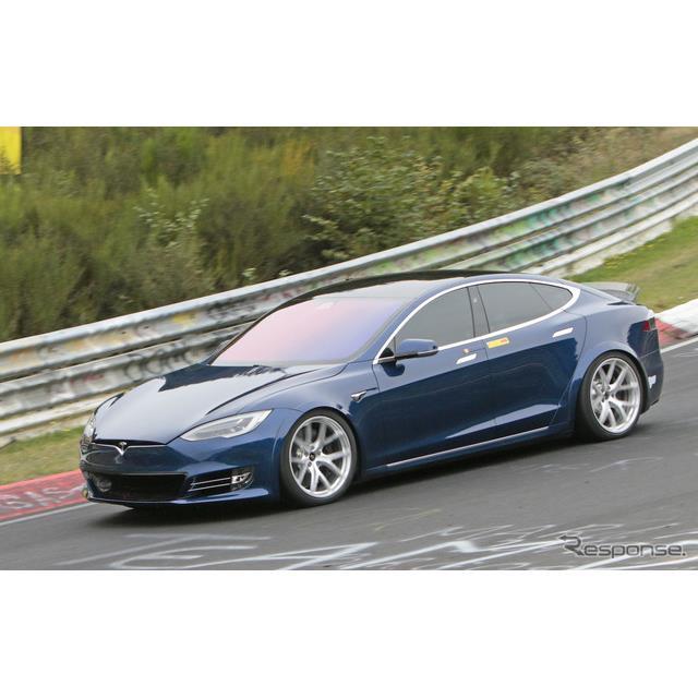 米EVメーカー「テスラ」は今週、ニュルブルクリンクにて、ポルシェ『タイカン』の持つ4ドアEVセダン最速レ...