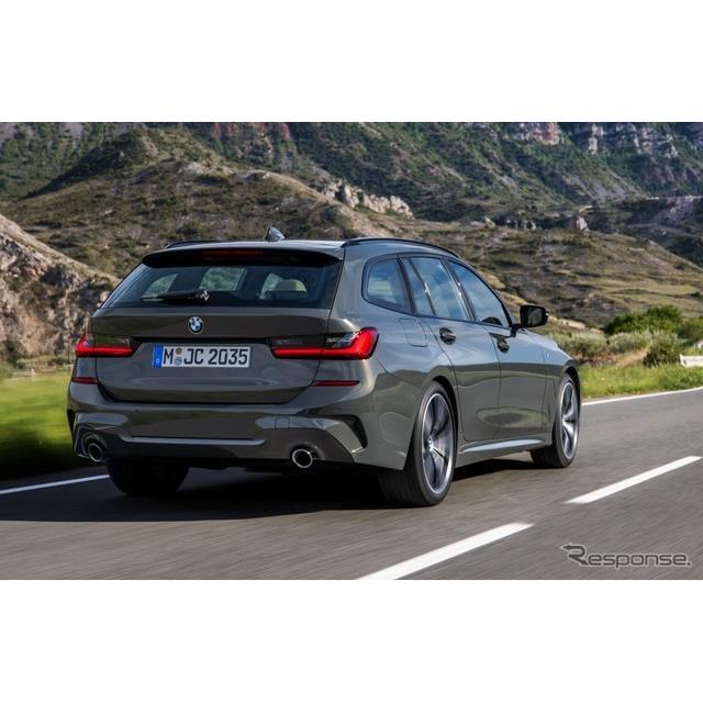 ビー・エム・ダブリュー(BMWジャパン)は、今年1月発表の新型『3シリーズ』のツーリングモデルとして、高...