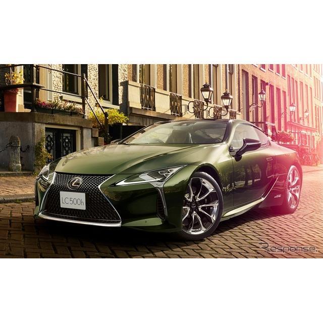 レクサスは、「CRAFTED」の思想に基づく特別仕様車を『LC』および『IS』に設定し、「LC PATINA Elegance」...
