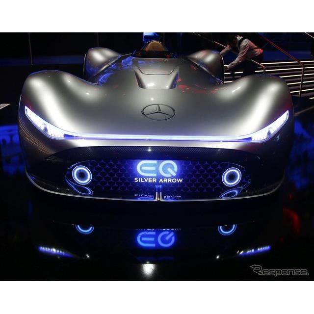 メルセデスベンツ・ビジョン EQ シルバーアロー(フランクフルトモーターショー2019)