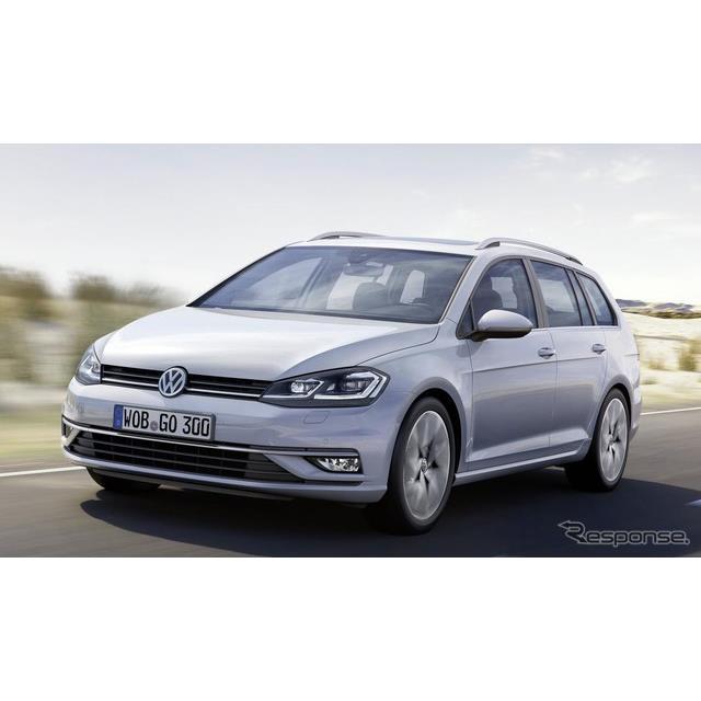 VW ゴルフ・ヴァリアント 現行型(参考画像)