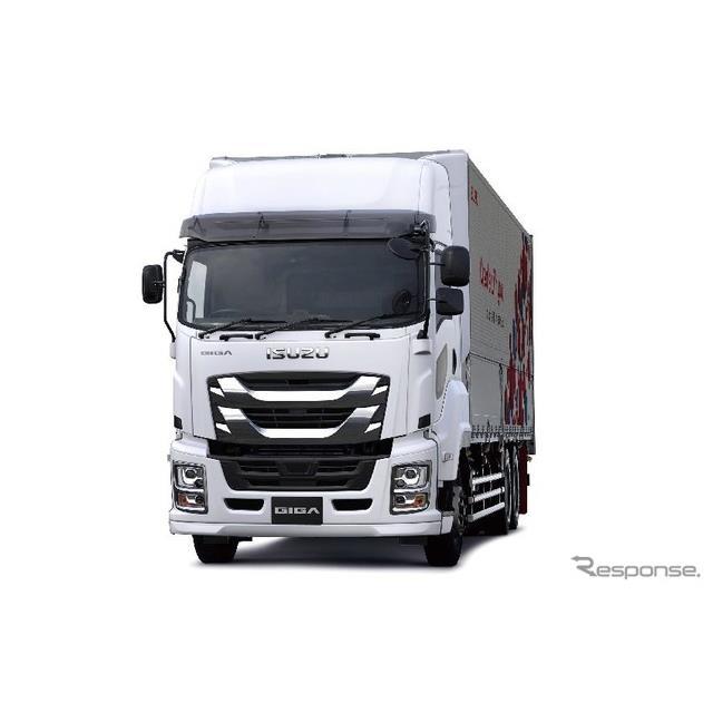 いすゞの大型トラック ギガ 最新モデルを世界初公開へ 東京