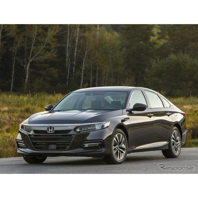 ホンダの米国法人、アメリカンホンダは9月27日、『アコード ハイブリッド』(Honda Accord)の2020年モデル...