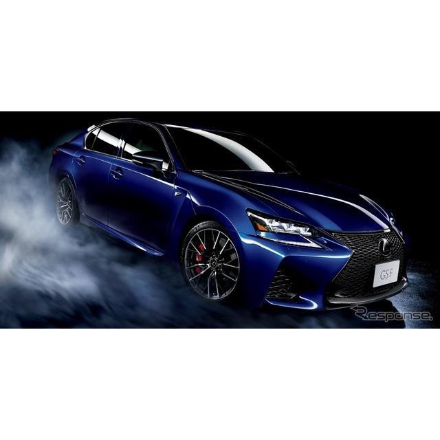 レクサスは、高性能セダン『GS F』を一部改良し、足回りの強化などを施し、10月1日より販売を開始した。 ...