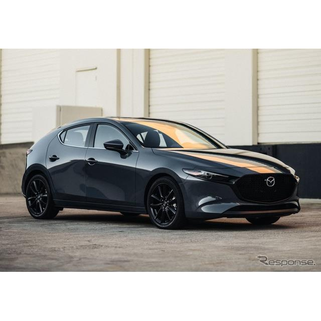 マツダの米国部門は、『マツダ3』(Mazda3)の2020年モデルを今秋、米国市場で発売すると発表した。現地ベ...