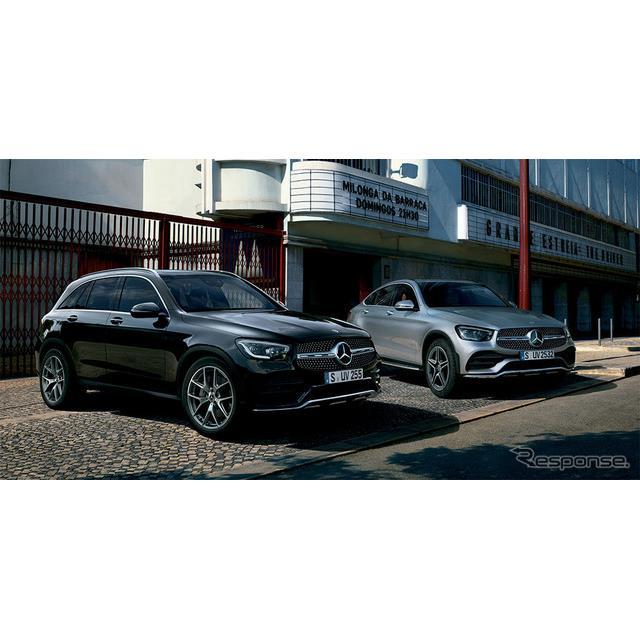 メルセデス・ベンツ日本は、ミドルサイズSUV『GLC』『GLCクーペ』改良新型(Mercedes-Benz GLC-Class)を発...