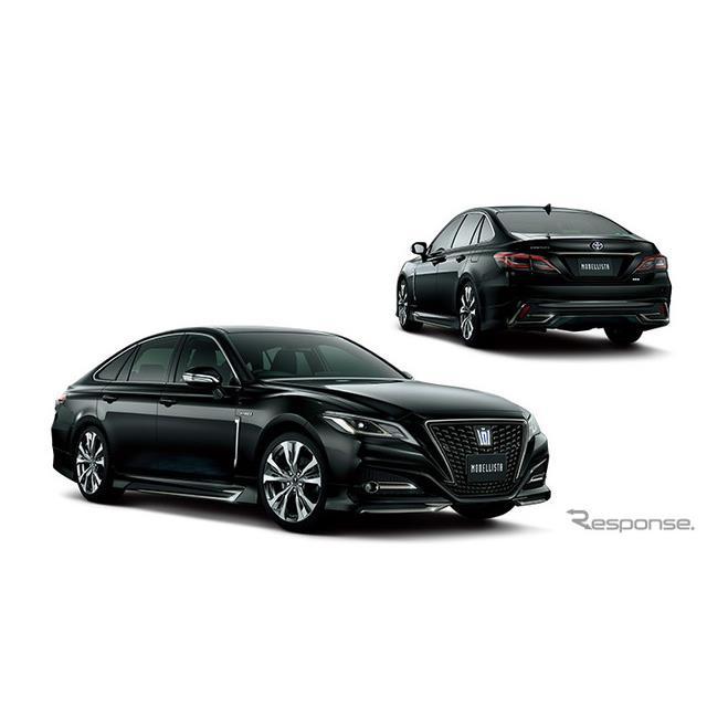 トヨタカスタマイジング&ディベロップメントは、クラウン特別仕様車「S スポーツスタイル」の発売に伴い、...