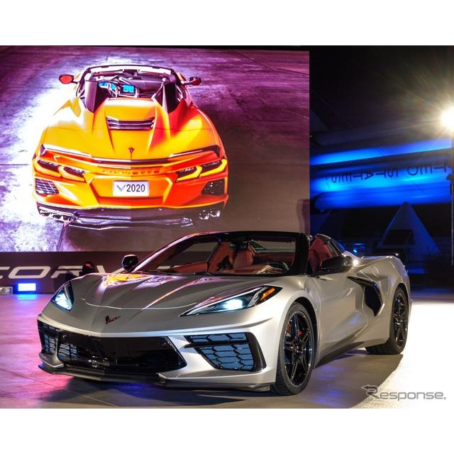 GMのシボレーブランドは10月2日、新型『コルベット・スティングレイ・コンバーチブル』(Chevrolet Corvett...