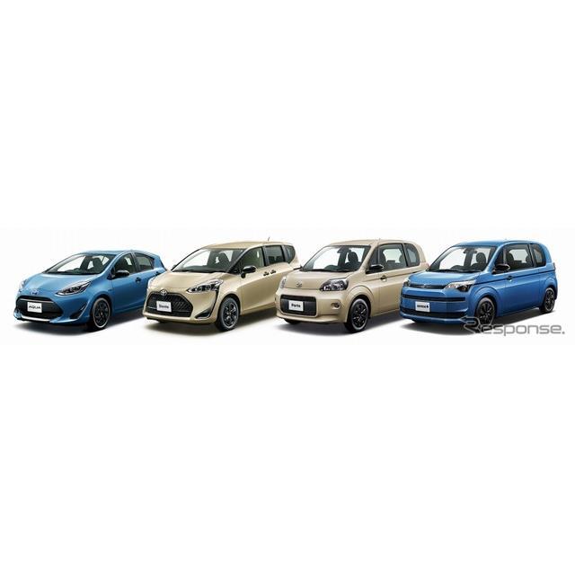 トヨタ自動車は、『アクア』『シエンタ』『ポルテ』『スペイド』に、アウトドアカジュアルテイストの特別仕...