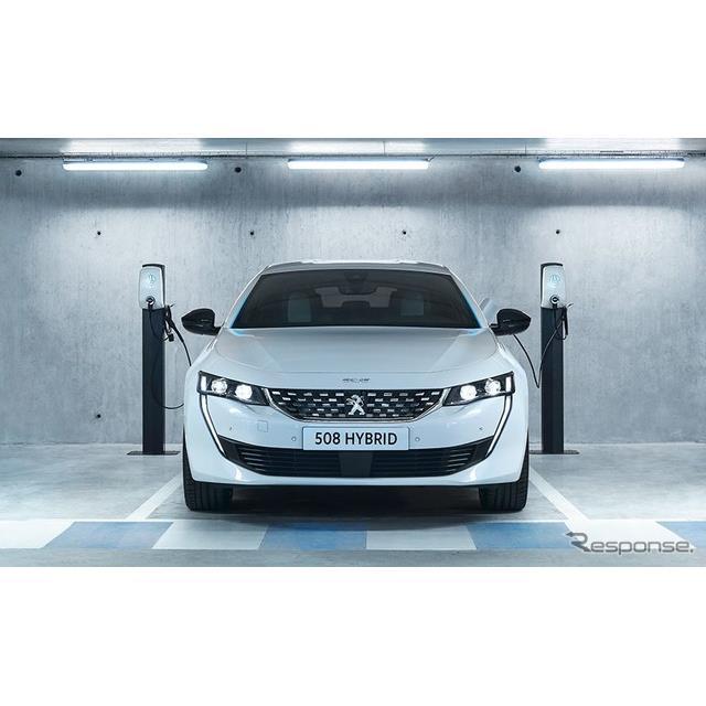 プジョーは10月8日、新型『508』(Peugeot 508)と新型『508SW』(Peugeot 508 SW)のプラグインハイブリッ...