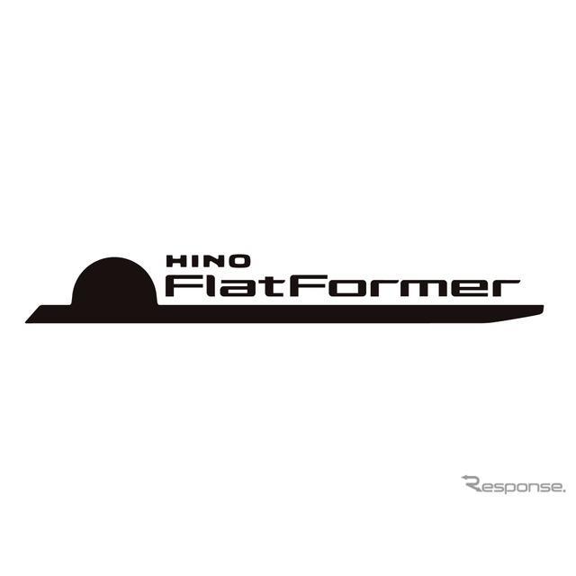 「FlatFormer」のロゴデザインは、「FlatFormer」を横から見たところがモチーフになっている。