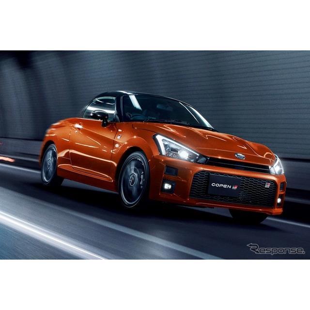 トヨタ自動車は、ダイハツからのOEM供給を受け『コペン GRスポーツ』を、全国のトヨタ車両販売店を通じて10...