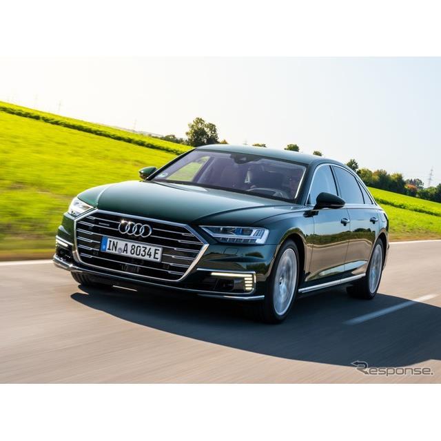 アウディ(Audi)は10月16日、新型『A8』のプラグインハイブリッド車(PHV)、「A8 L 60 TFSI e クワトロ」...