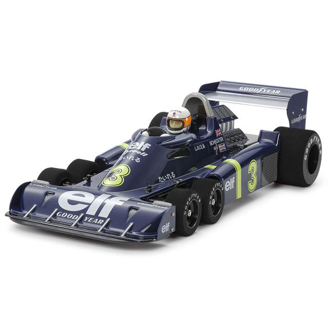 1/10RC XB タイレル P34 1976 日本GP (RCメカレスタイプ)