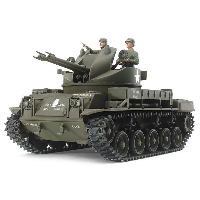 1/35 アメリカ対空自走砲 M42ダスター(人形3体付き)