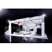 第46回東京モーターショー2019に出展する横浜ゴムのブースイメージ。