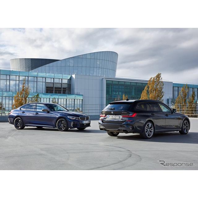 BMWは、新型『3シリーズ セダン』(BMW 3 Series Sedan)と新型『3シリーズ ツーリング』(BMW 3 Series To...