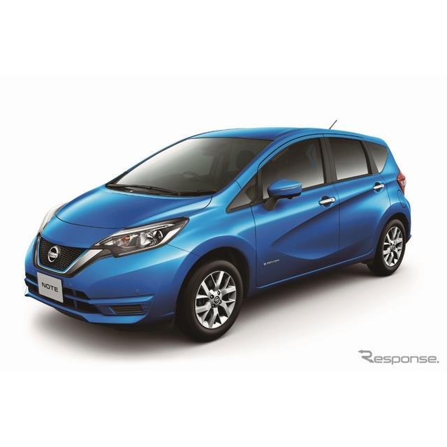 日産自動車は10月28日、コンパクトカー『ノート』に特別仕様車「Vセレクション」を設定し、全国一斉に発売...