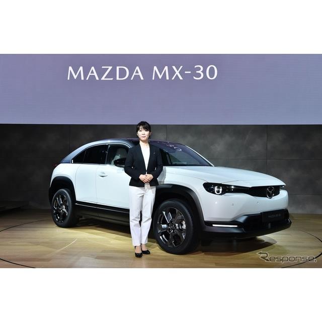 MX-30開発主査 竹内都美子氏