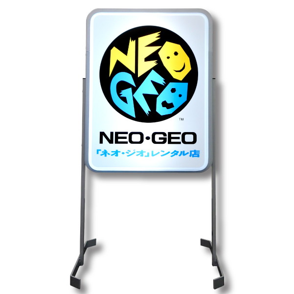 復刻 NEO・GEOレンタル店 スタンドサイン