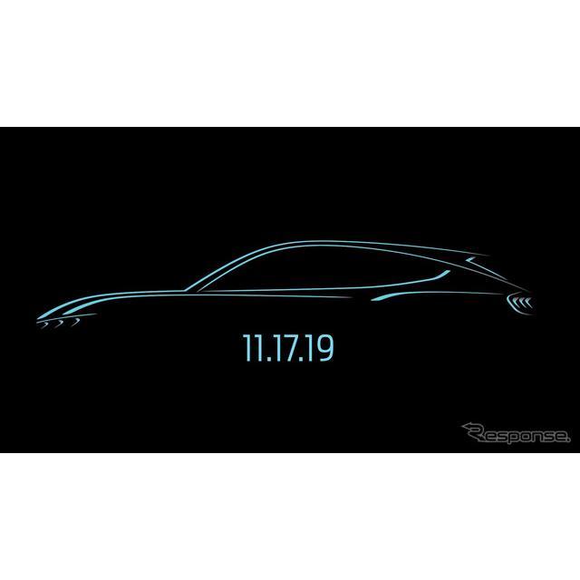 フォードモーター(Ford Motor)は、フォード『マスタング』にインスパイアされた新型EVを、11月17日に初公...