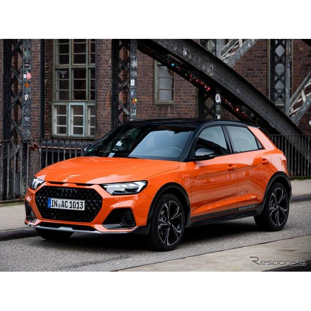 アウディは10月31日、新型『A1シティカーバー』(Audi A1 citycarver)を今秋、欧州市場で発売すると発表し...