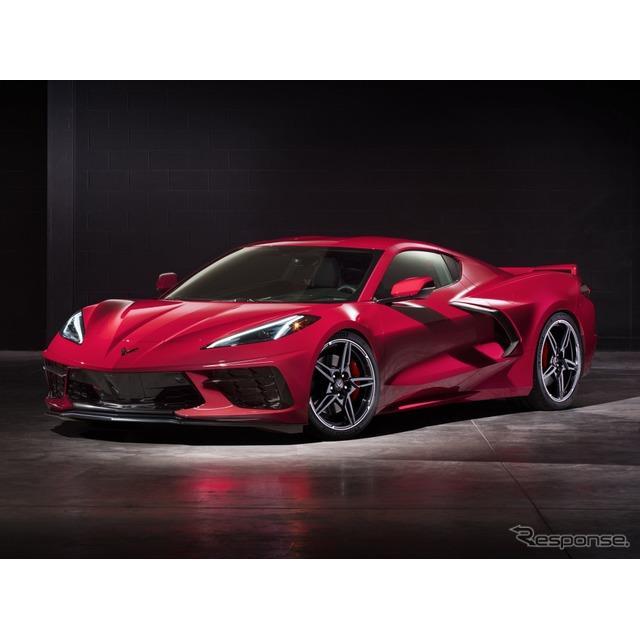 GMのシボレーブランドは11月6日、新型『コルベット・スティングレイ』(Chevrolet Corvette Stingray)の動...
