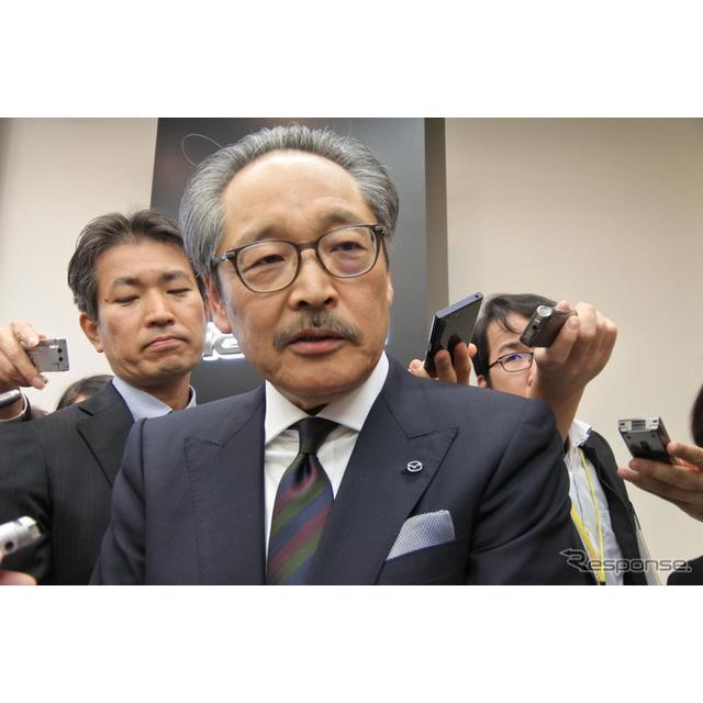 マツダ 藤原清志 副社長