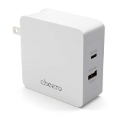 cheero 2 port PD Charger (PD 45W + USB) CHE-328