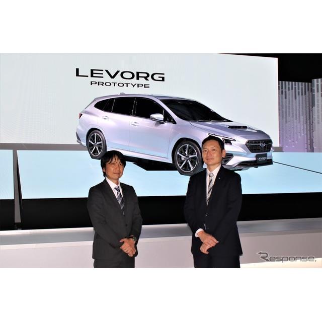 SUBARU(スバル)は東京モーターショー2019に次期型『レヴォーグ』のコンセプトモデルを出品した。その開発...