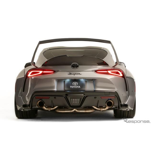 トヨタ自動車の米国部門は、SEMAショー2019において、トヨタ『GRスープラ・ハイパーブースト・エディション...