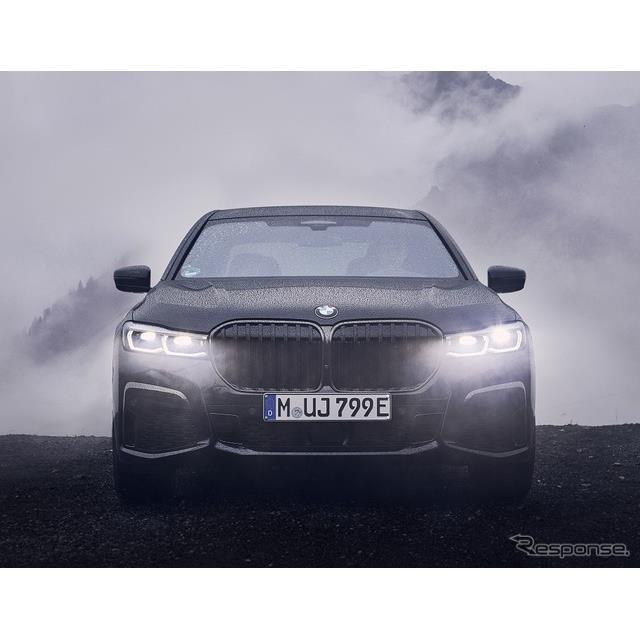 BMWは11月8日、改良新型『7シリーズ』(BMW 7 series)のプラグインハイブリッド車(PHV)、「745Le」が、...