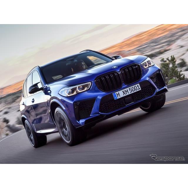 BMWは、11月20日に米国で開幕するロサンゼルスモーターショー2019において、新型『X5M』(BMW M5M)を初公...