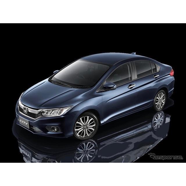 ホンダ(Honda)は11月12日、『シティ』(日本名:『グレイス』に相当)の新型を11月25日、タイで初公開す...