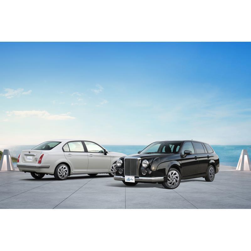 光岡自動車は2019年11月14日、「リューギ」および「リューギ ワゴン」に特別仕様車「EX」をそれぞれ設定し...