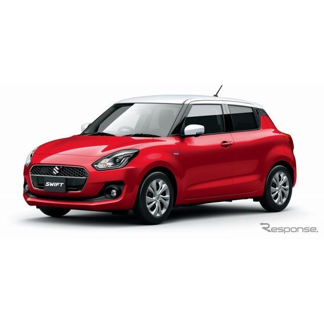 スズキは、小型乗用車『スイフト』に特別仕様車「ハイブリッドMGリミテッド」を設定し、11月14日より発売す...