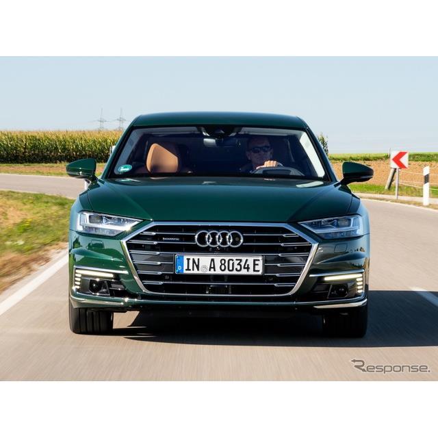 アウディは、11月20日に米国で開幕するロサンゼルスモーターショー2019において、新型『A8』(Audi A8)の...