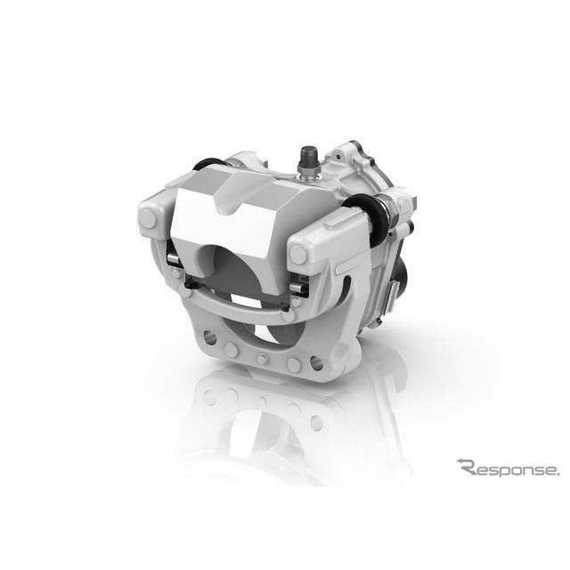 ZFの三輪マキシスクーター向け電気機械式チルトロック
