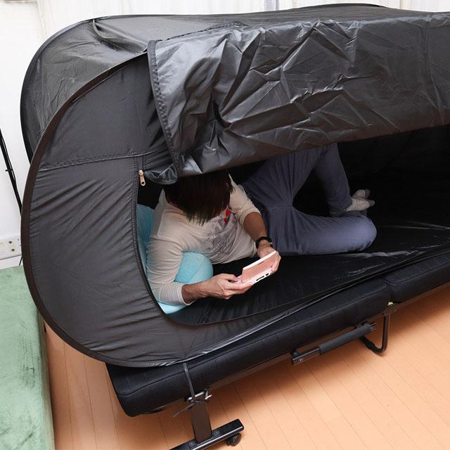 ベッドdeテント