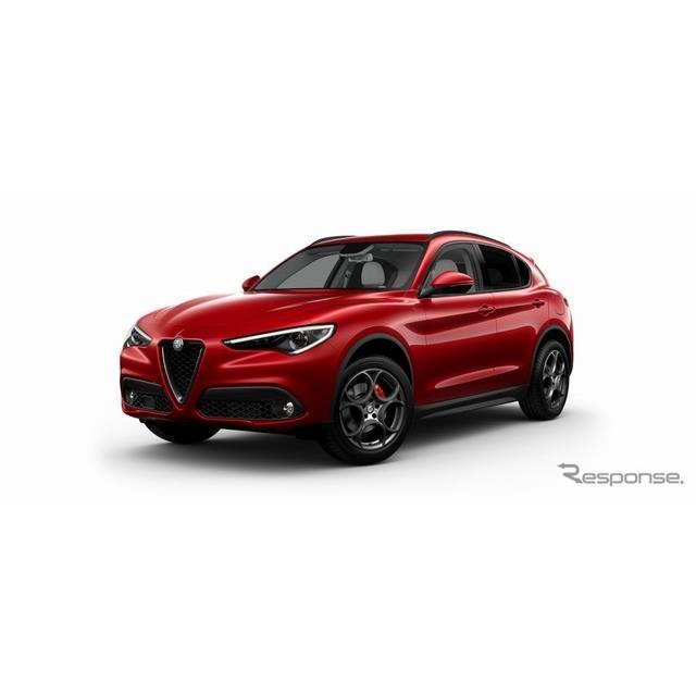 FCAジャパンは、アルファロメオのSUV『ステルヴィオ』(Alfa Romeo Stelvio)に設定されている「スポーツパ...